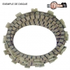 DISQUES EMBRAYAGE GARNIS 450 YZF  2003-2006 + 450 WRF 2004