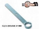 CLE A BOUGIE  PLATE 21 MM