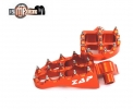 REPOSE PIEDS ZAP TECHNIX EVOLUTION ORANGE KTM SX+SXF+EXC+EXCF
